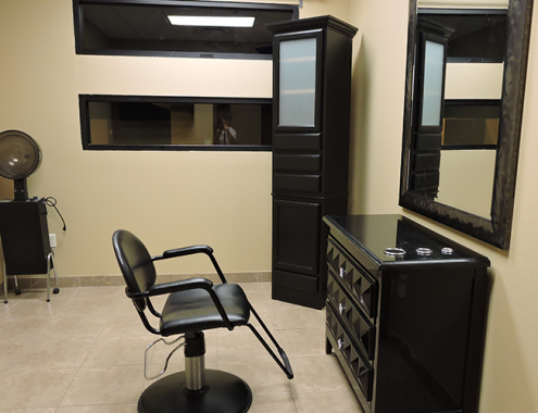 Salon Suite Improvements